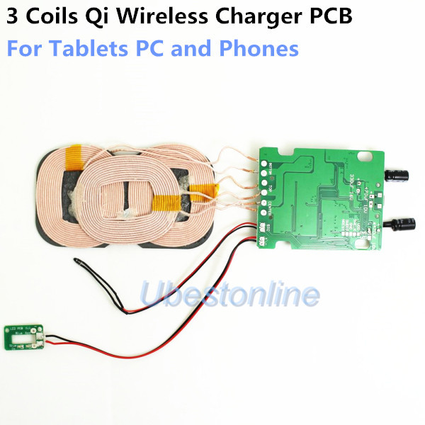 Coils qi font b wireless b font font b charger b font pcb for jpg