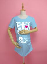 Pregnant Maternity T Shirts Shorts Casual Pregnancy Clothes For Pregnant Women Clothing Gravida Cotton Vestidos Summer 2015(China (Mainland))