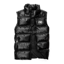 2014 Fashion Brand new down jacket vest men sleeveless jacket sleeveless men denim vest men mens denim vest Free shipping(China (Mainland))