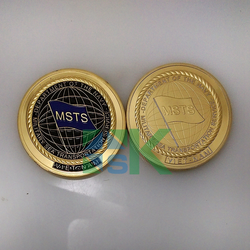 New 2016 MSTS Viet Nam coin 5pcs/lot Challenge COINS a living memorial vietnam day coin Free Shipping(China (Mainland))