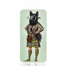 22909 Scottie Dog font b Kilt b font scottish terrier Animal cell phone case cover for