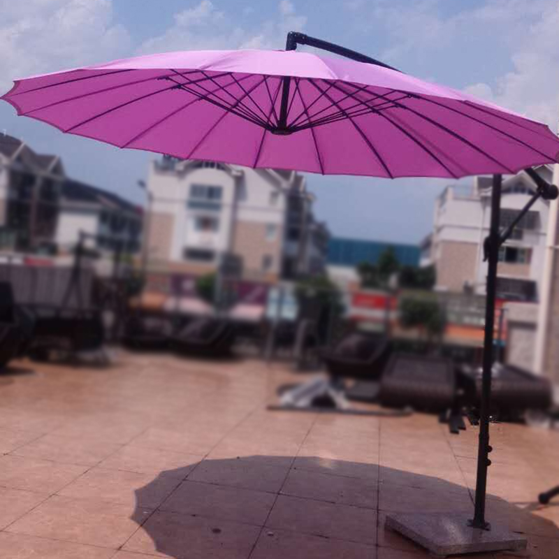 Gold Garden outdoor beach umbrella security guard post parasols round leisure new special<br><br>Aliexpress
