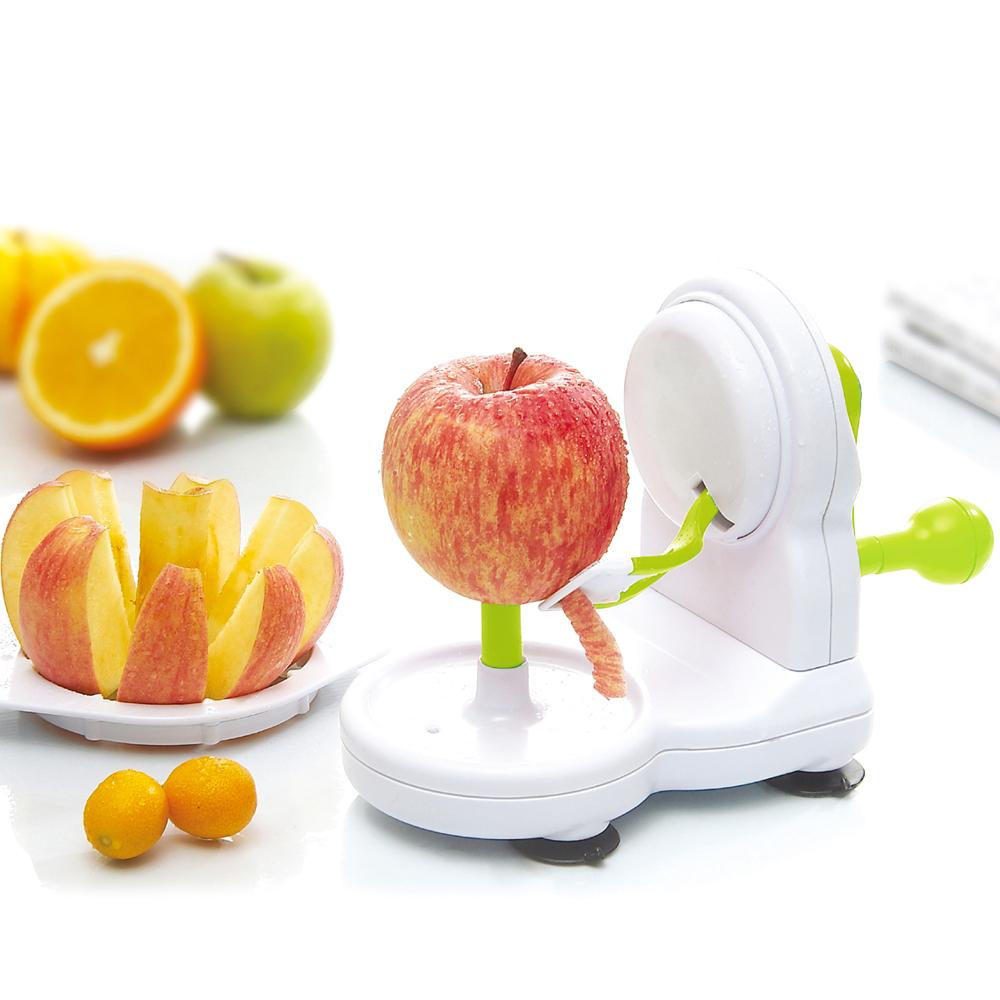 Practical Fruit Peeler Creative Kitchen Tool Manually Apple Peeler Peeling Machine with Apple Cutter Corer Peeling Machine(China (Mainland))
