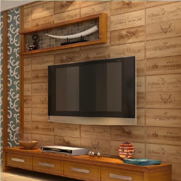 Papel tapiz estilo de madera imagui for Papel de pared madera