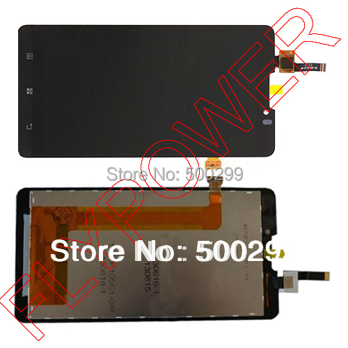 New LCD Display and Touch Screen Digitizer Assembly For Lenovo P780 by Free shipping(China (Mainland))