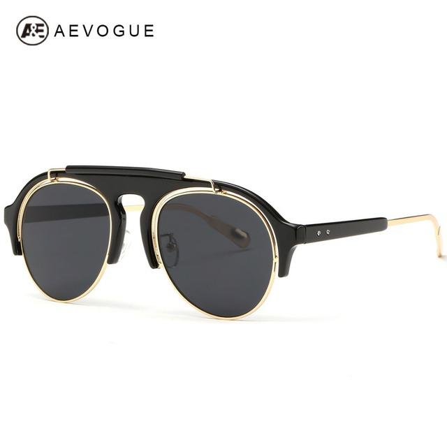 Aevogue дизайн старинные очки мужчины лето стиль солнцезащитные очки Высокое качество ...