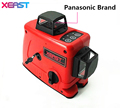 XEAST 12Lines 3D Laser Level Self Leveling 360 Horizontal And Vertical Cross Red Laser Beam Line