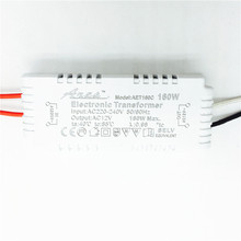 CE 160W Electronic Transformer For G4 Crystal Flat Lamp MR11/MR16 Halogen Lamp Power Supply AC220V to AC12V(China (Mainland))