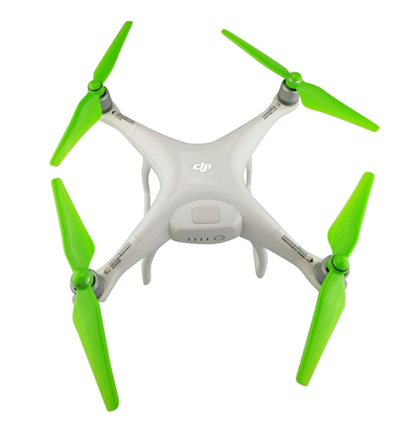 DJI Phantom 4 9450S Paddle Four-Axis Aircraft Remote Control Helicopter Spare Parts Spare Parts Green 2PCS Propeller