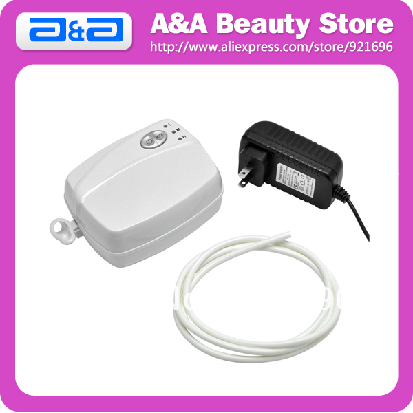 White Single Action Airbrush Makeup Air Compress For Cosmetics, Sunless Tanning, Cake Decorating, Temporary Tattoos, Nail Art<br><br>Aliexpress
