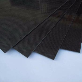 Новый Углеродного Волокна Плиты 200*300*0.5 мм С 100% Реальные Углеродного Волокна плиты/панель/лист 3 К полотняного переплетения Продвижение