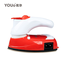 Free shipping new electric iron Mini hand-held electric iron hand drilling small cloth spray dry iron Electric Irons(China (Mainland))