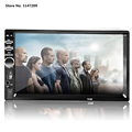2 Din Car Video Player 7 HD Touch Screen 1080P Bluetooth Stereo Radio FM SD MP4