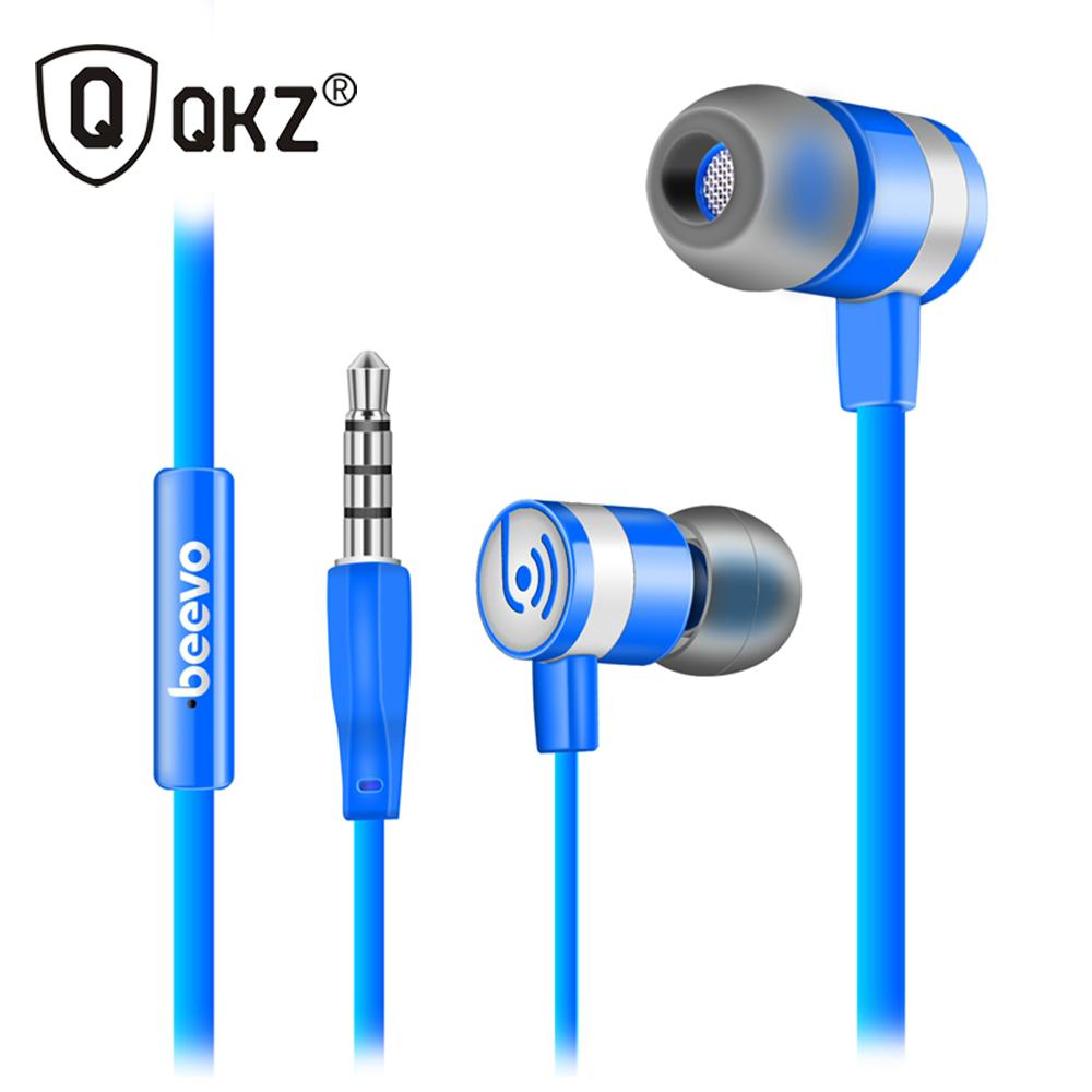 QKZ ME130 4 Colors Headphone Ear Headphones Bass Headset Phone With Microphone Headset Music Earphone Headset HIFI Headphones(China (Mainland))