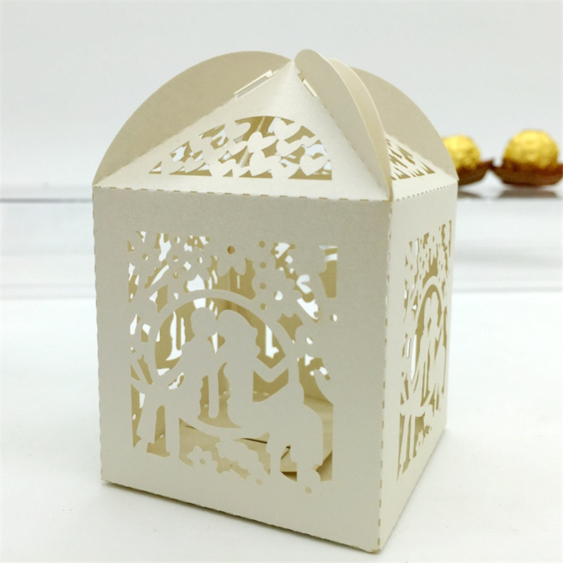 Wedding Party Gifts For Bride And Groom : Cut Bride and Groom Gift Candy Box Souvenirs Wedding Party Favors ...