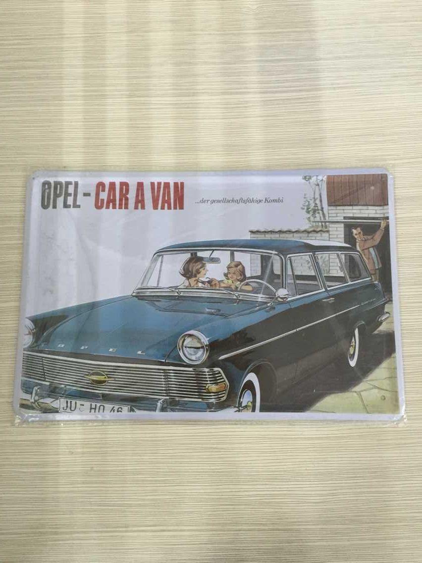 20x30cm/8x12inch Family Car Motors Wall Garage Decor Metal Tin Signs Poster Shop Motel House Motel Parlor Cafe Homewares Decal(China (Mainland))