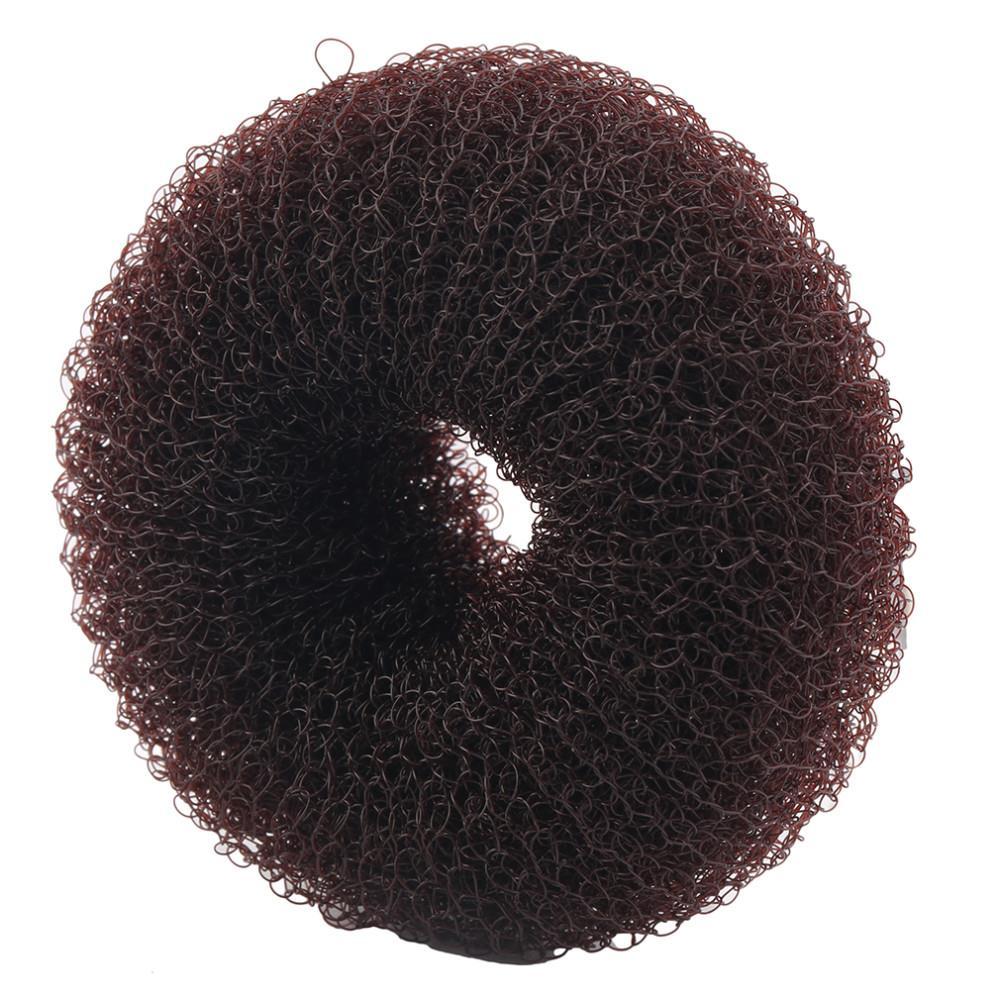 Bonito Mulheres Meninas Esponja Bráctea cabeça almôndega cabeça Cabelo Bun Anel Donut Forma Hairband criador Hair styling Ferramenta 100% Top bom