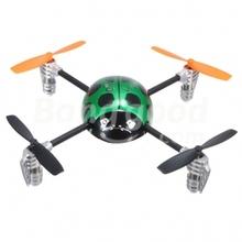 2.4G 3D Walkera Mini 4CH UFO RC QR Ladybird V2 BNF No Transmitter RTF