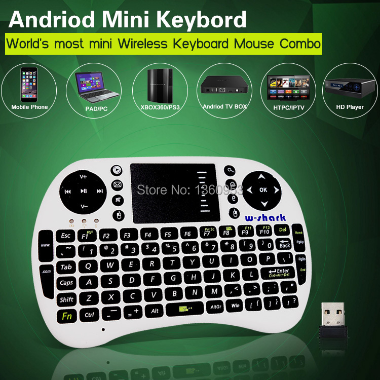 English 2.4GHz Mini Wireless teclado Keyboard Remote Control Fly Air Mouse For Touchpad PC Tablet Smart Phone TV Box(China (Mainland))