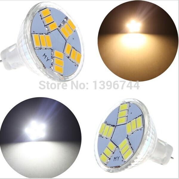 1pcs 7W MR11 GU4 600LM LED Bulb Lamp 15led 5730SMD White/Warm White Light Energy Saving Led Lighting Ultra Bright(China (Mainland))