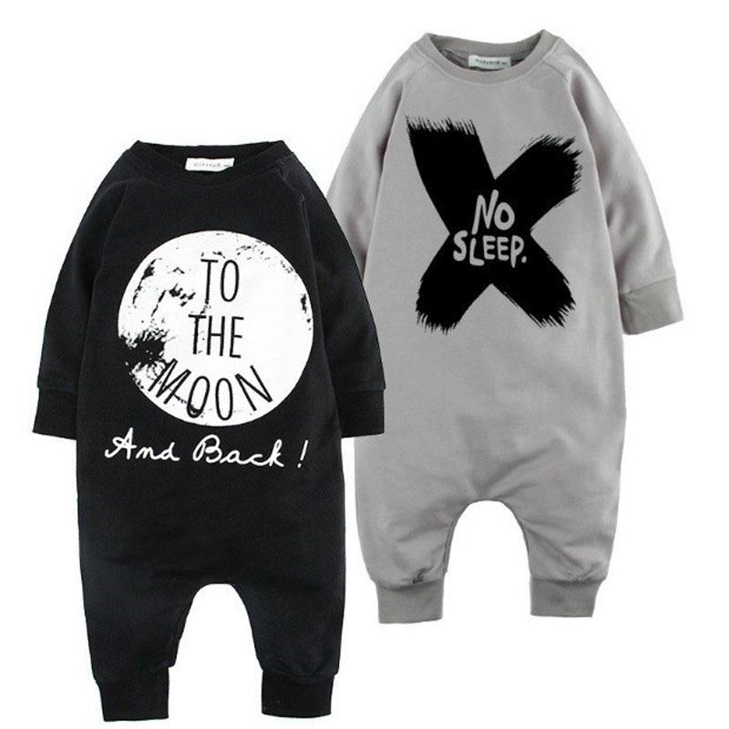 2015 Spring Autumn 100 Cotton Baby font b Boy b font Clothes Girl Romper Children Clothes