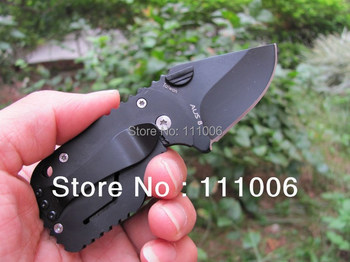 Boker - QQ Black Pig Hunting Folding Pocket Mini knife Tactical 55HRC 420 Best Gift Free Shipping (50g)