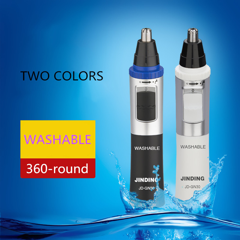 Washable electric nose hair trimmer nose hair shaving Waterproof nose hair trimmer<br><br>Aliexpress