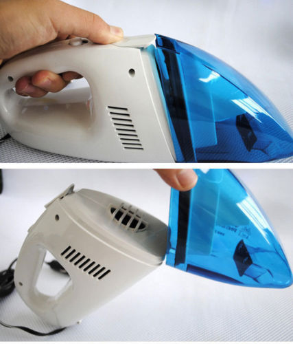 Auto Car 12V Rechargeable Wet&Dry Handheld Vehicle Vacuum Cleaner(China (Mainland))
