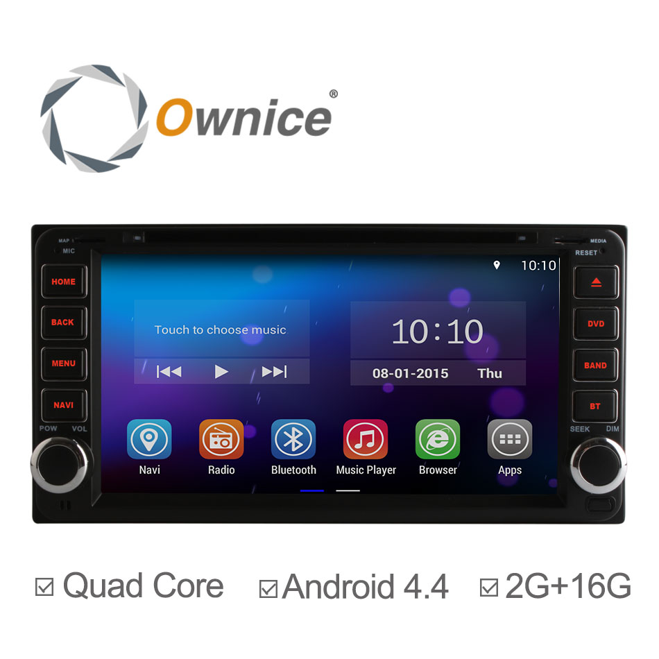 Quad Core Android 4.4.2 Car DVD Player GPS for Toyota RAV4 Corolla Camry Vios Hilux Toyota Universal DVD Support OBDll 2G/16GB(China (Mainland))