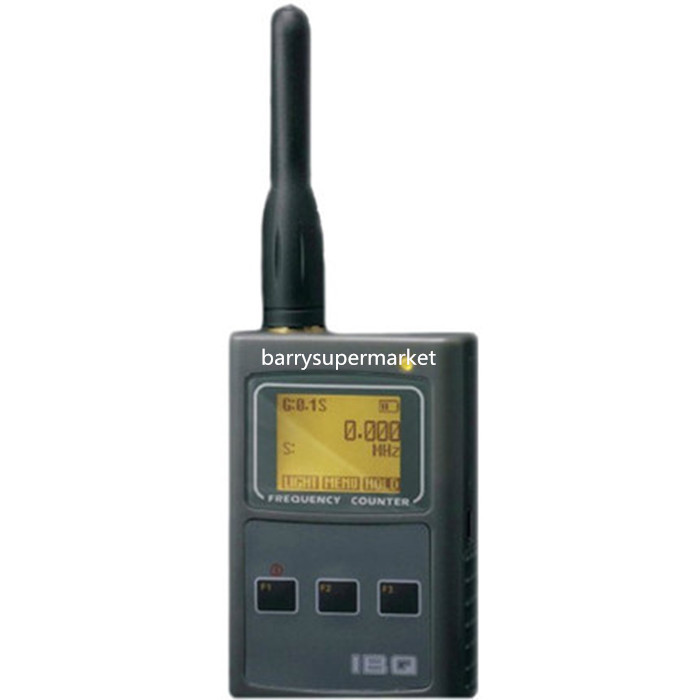 Two way radio handheld Frequency Counter IBQ102 wide test range 50MHz-2.6GHz Frequency Meter for walkie talkie BAOFENG UV-5R