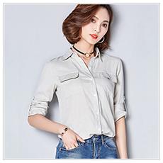 HTB1znMySpXXXXaBaFXXq6xXFXXXp - Women Summer Chiffon Blouse Plus Size Short Sleeve Casual Shirt
