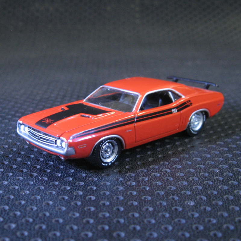 GreenLight 1:64 1971 Dodge Challenger R/T boutique alloy car toys for children kids toys Model bulk freeshipping(China (Mainland))