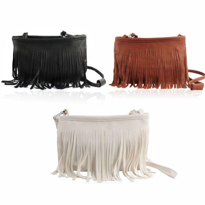 2015 Hot sell Tassel women handbags Cross Body PU Leather shoulder bags fashion Messenger Bags for Girls Women free shipping<br><br>Aliexpress