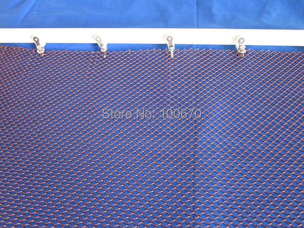 ceiling decorative mesh,metal curtain for hotel and indoor(China (Mainland))
