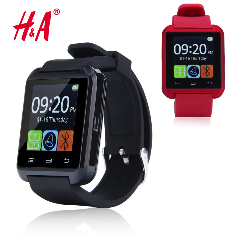 Smartwatch Bluetooth Smart Watch A8 WristWatch digital sport watches for IOS Android Samsung phone Wearable Electronic Device(China (Mainland))