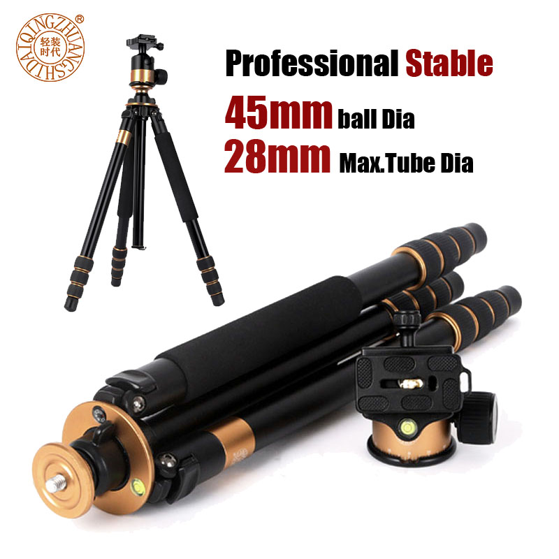 HOT selling New product QZSD Q1000 Professional Camera  Tripod 4Section Carrying Bag Free shipping for DHL<br><br>Aliexpress