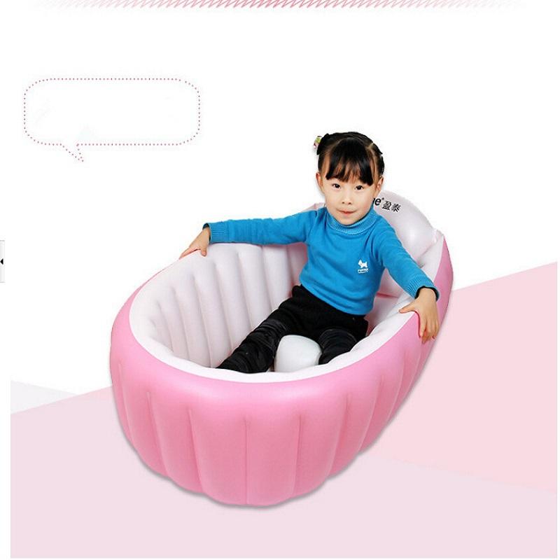 Neonato gonfiabile vasca pieghevole vasca da bagno bambino - Vasca da bagno bambini ...