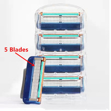 new brand (4pieces/lot)   Men's Razor Blades High Quality Blade Grade AAA+ Standard for RU&Euro(China (Mainland))