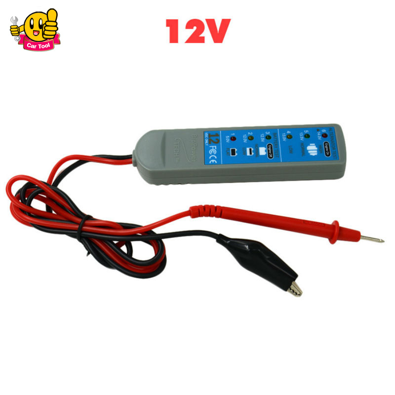 VEHICLE CHARGING SYSTEM ANALYZER 12v CAR battery alternator tester Car Vehicle Battery Tester Diagnostic tool free shipping(China (Mainland))