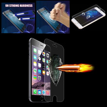 New Arrival High Quality Anti-Explosion Screen Protector For iPhone 44s 5 5s 6 6s 6plus 6splus Real Tempered Glass Free Shipping