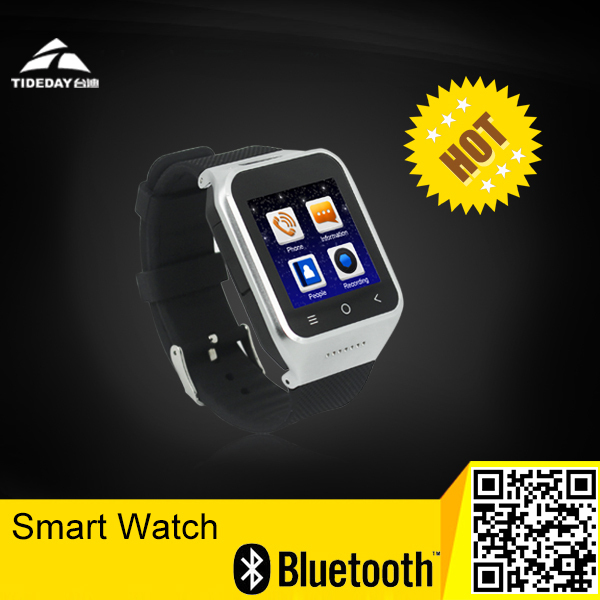Free shipping Multi Function Wifi Super Smart Watch with Android System Watch Phone with 3M pixels