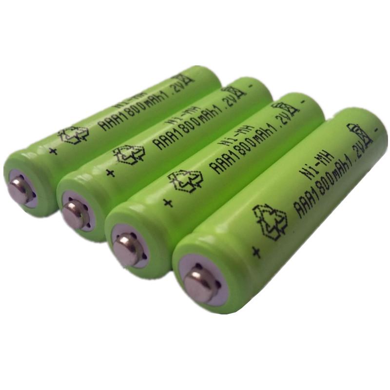 DING LI SHI JIA New 8pcs AAA 1800mAh 1.2 V Quanlity Rechargeable Battery AAA NI-MH 1.2V Rechargeable 3A Baterias(China (Mainland))