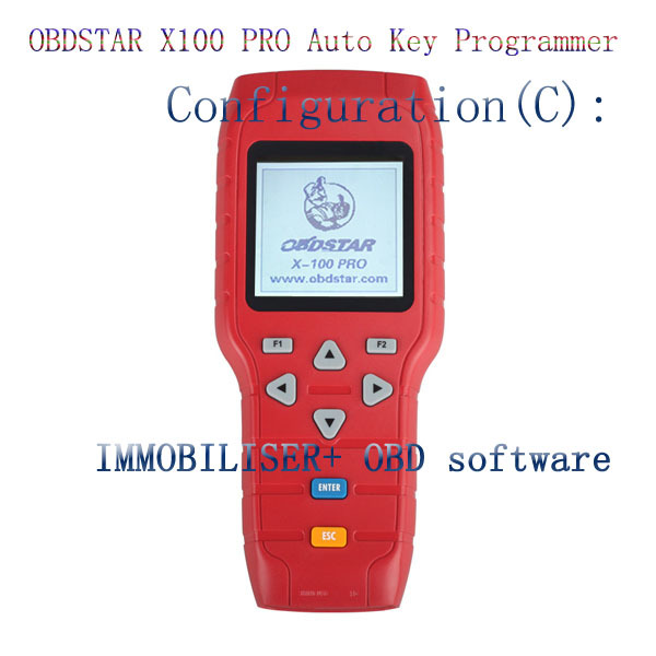 original OBDSTAR X-100 x100 PRO Auto Key Programmer (C model ) for IMMO function with DHLshipping(China (Mainland))
