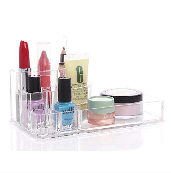 Creative Multifunction Jewelry Box Acrylic Cosmetic Organizer Drawer Makeup Case Storage Insert Holder Storage Box(China (Mainland))