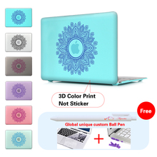 Paisley Garland Laptop Computer Bag Case For Mac Apple Macbook Pro 15 For Macbook 12 Retina + Silicone Keyboard Cover