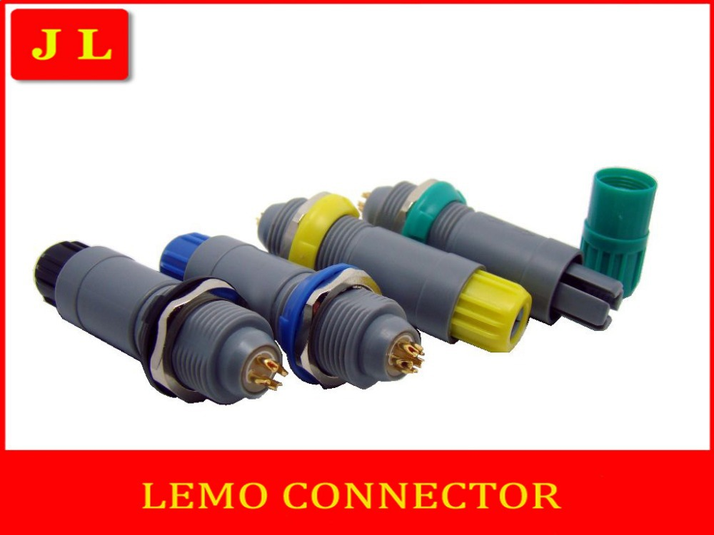 LEMO connector, wire connection plug socket, insulating plug socket.Yellow, gray, black, green, blue,2pin 3pin 4pin 5pin6-12pin <br><br>Aliexpress