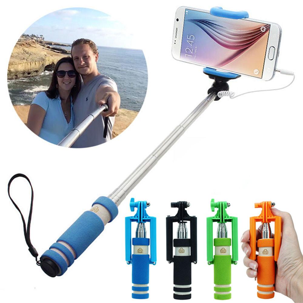 image for Hot Selling 4 Colors Mini Extendable Handheld Fold Self-portrait Stick
