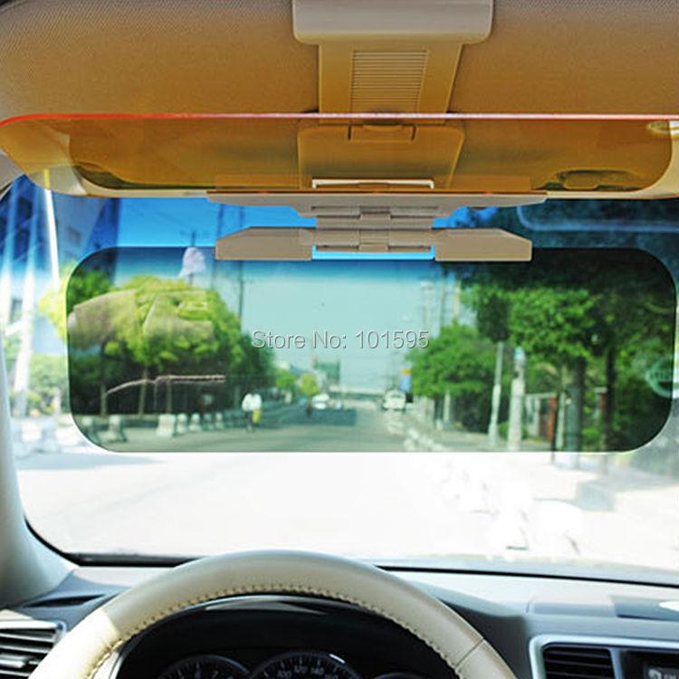 Новый новинка водитель день и ночь на ближний свет зеркало четкую версию автомобиль солнцезащитный козырек очки автомобиль затенения вс блок сейф