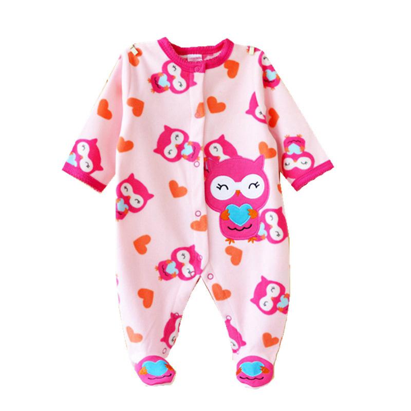 aliexpress   buy cute owl fleece new born baby clothes