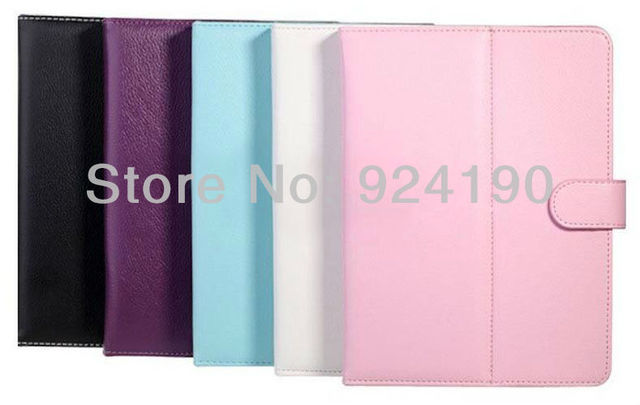 2013 Freeshipping high quality leather case for android tablet pc with all size/colour